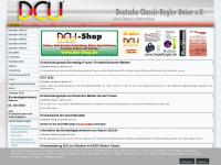 DCU e.V. Deutsche Classic-Kegler Union - Startseite