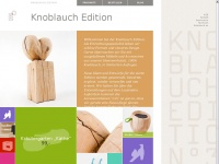 Home - Knoblauch Edition