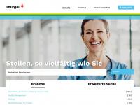 Web-Portal Arbeitsmarkt Thurgau - karriere-thurgau.ch