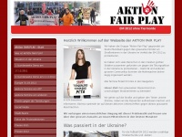 Aktion FAIR PLAY - Start - aktion-fair-plays Jimdo-Page!