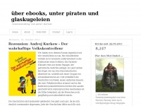 &uuml;ber ebooks, unter piraten und glaskugeleien