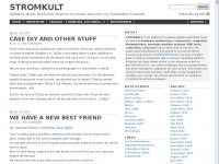 StromKult StromKult - Updates about electronic devices for music and arts. by Schneiders Freunde