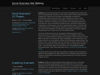 Social Business Net Weblog