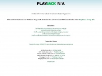Playjack N.V. - Firmeninformationen