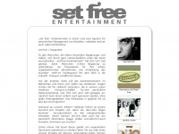set free Entertainment: Managment W4C, DannyFresh, Conny Reusch, Peter Pan, Ruben Rodriguez