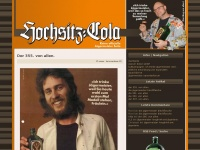 Hochsitz-Cola &ndash; die J&auml;germeistersammlung von KLE