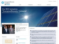 BDI initiativ - Energieeffiziente Geb&auml;ude - Startseite