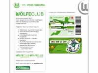 Woelfeclub.de - vfl wolfsburg - W&ouml;lfiClub, W&ouml;lfeClub - Fanartikel, Fanshop, Eintrittskarten, Tickets