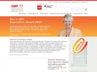 CeBIT Innovation Award 2013: CeBIT Innovation Award