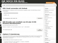 Oje noch ein Blog