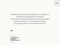 Finanz- und Unternehmenskommunikation - Kirchhoff Consult AG