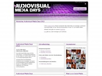 audiovisual-media-days.com