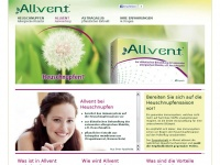 Allvent.de - Macht stark gegen Heuschnupfen - Allvent