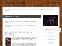 Swing in Dresden | Alles &uuml;ber die Swing-Tanz-Szene in Dresden &ndash; all about the swing-dance community in Dresden