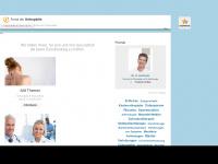 Portal der Orthopädie, Informationen über orthopädische Gesundheit