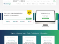 Webhosting, Webspace &amp; Hosting - Provider L&ouml;sungen von Host Europe