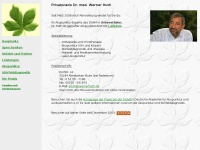 Praxis Dr. Werner Huth - Akupunktur-Experte bei Paderborn