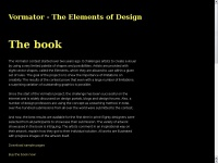 Vormator - The Elements of Design