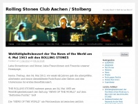 Rolling Stones Club Aachen / Stolberg | It's only Rock 'n' Roll but we like it!