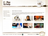 Coffee to help: Eine Aktion der Caritas