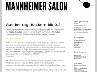 Mannheimer Salon