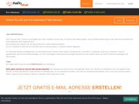 Gratis E-Mail Konto eröffnen bei www.hallomail.ch