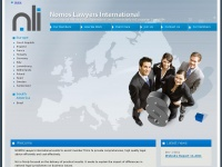 Nomosli.eu - NLi: Nomos Lawyers International - International Alliance of Independent Law Firms