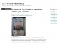 dasimmobilienblog - Das Blog rund um Immobilien f&uuml;r Vermieter, Mieter und alle Interessierten