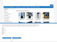 Hotel TV, Werbedisplays, Digital Signage Systeme sowie Verleih von Messeausstattung