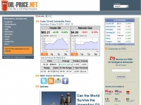 Oil-price.net - Crude Oil Price, Oil, Energy, Petroleum, Oil Price, WTI & Brent Oil, Oil Price Charts and Oil Price Forecast