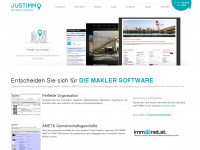 JUSTIMMO DIE Makler Software - Immobilien Software