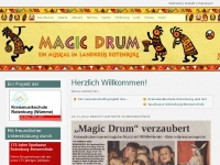 Magic Drum - Kindermusical im Landkreis Rotenburg - Herzlich Willkommen!