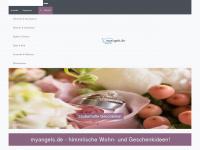 myangels.de - wohnideen - gartendeko online - schmuckladen - mitbringsel - engel shop