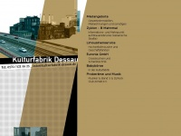 Kulturfabrik-dessau.de - Kulturfabrik - Dessau