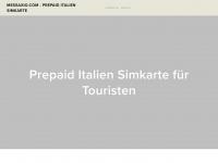 messaxio.com - Prepaid Karten für Italien - TIM Sim Karte mit oder ohne Datenoptionen - Verkauf und Kundensupport