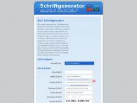 schriftgenerator.net