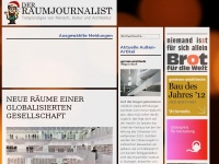 Der Raumjournalist &ndash; Der virtuelle Journalist f&uuml;r Architekten, Innenarchitekten, Designer und Interessierte + Online Magazin, Architektur-Journalismus und Corporate Publishing in Stuttgart +