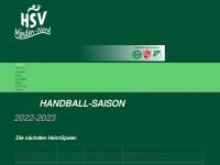 HSV Minden-Nord | Handballspielverbund des TuS Freya Friedewalde, TuS Minderheide und TV Grün-Weiß Stemmer.