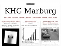 KHG Marburg | Just another WordPress.com weblog