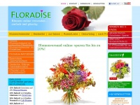 Floradise - Der Blumenshop der f&uuml;hrenden Blumenversender, Online Blumenversand Blumenversand im Vergleich - Floradise