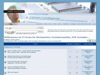 It-werkmeister.com - IT-Werkmeister, (IKT), Fachinformatiker, EDV Techniker, Werkmeister Forum - Index