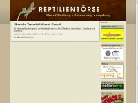 Reptilienbörse Ulm, Offenburg, Ravensburg, Augsburg - TerraristikEvent GmbH