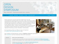 Open Design Symposium | Wednesday May 23rd 2012 | Kunstuniversität Linz, Austria