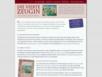 DIE VIERTE ZEUGIN :: Historischer Roman :: Die Seite zum Buch - Home
