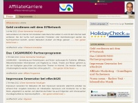 AffiliateKarriere | Infos zum Affiliate-Marketing