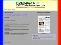 Hochzeitszeitung-online.de - Hochzeitszeitung Online - Beispiele, Vorlagen, Ideen, Tips und Tricks