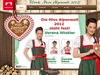 Neckermann Miss Alpenwelt 2012