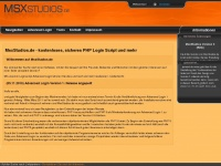 MsxStudios | Advanced Login: sicheres PHP Login Script - kostenlos