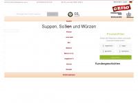 Gefro.de - Suppen, Soßen und Würzen