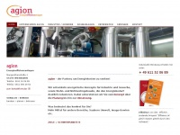 Screenshot der Domain agion-energie.de